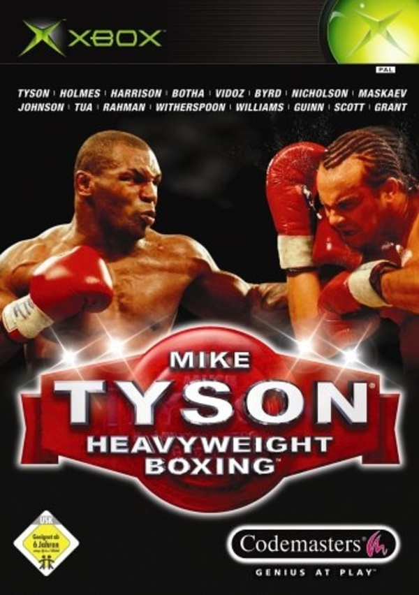 Cover zu Mike Tyson Heavyweight Boxing
