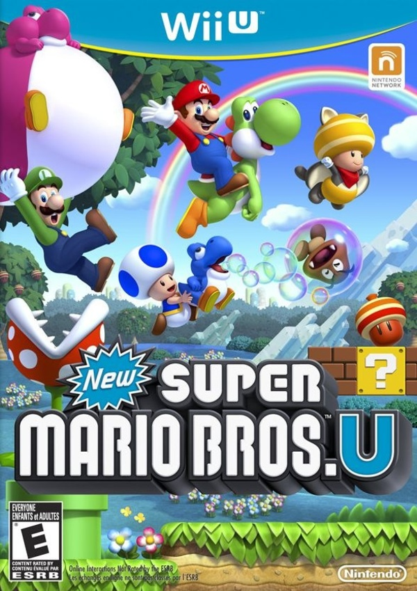 Cover zu New Super Mario Bros. U