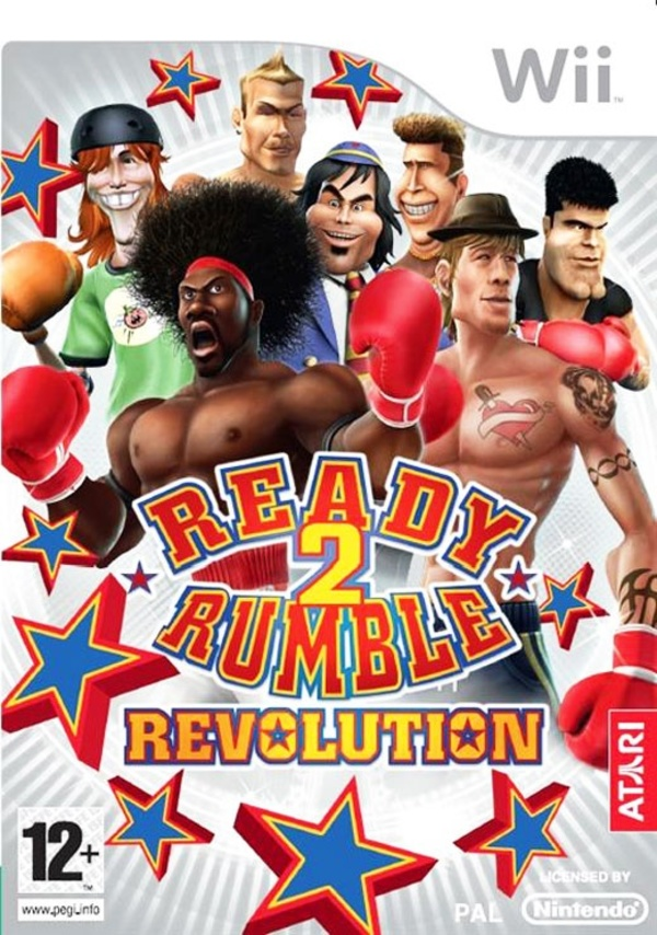 Cover zu Ready 2 Rumble Revolution