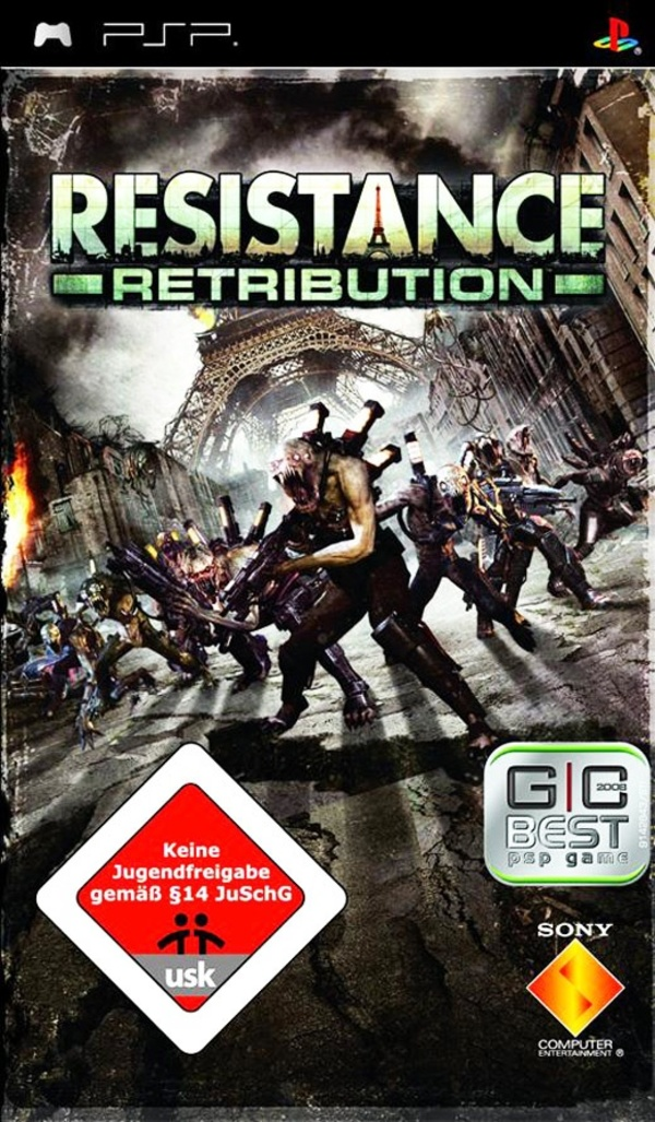 Cover zu Resistance: Retribution