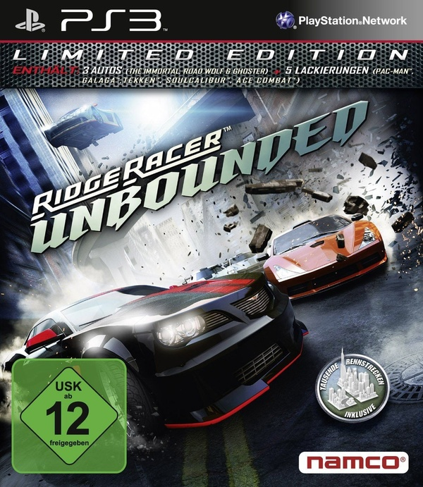 Cover zu Ridge Racer Unbounded