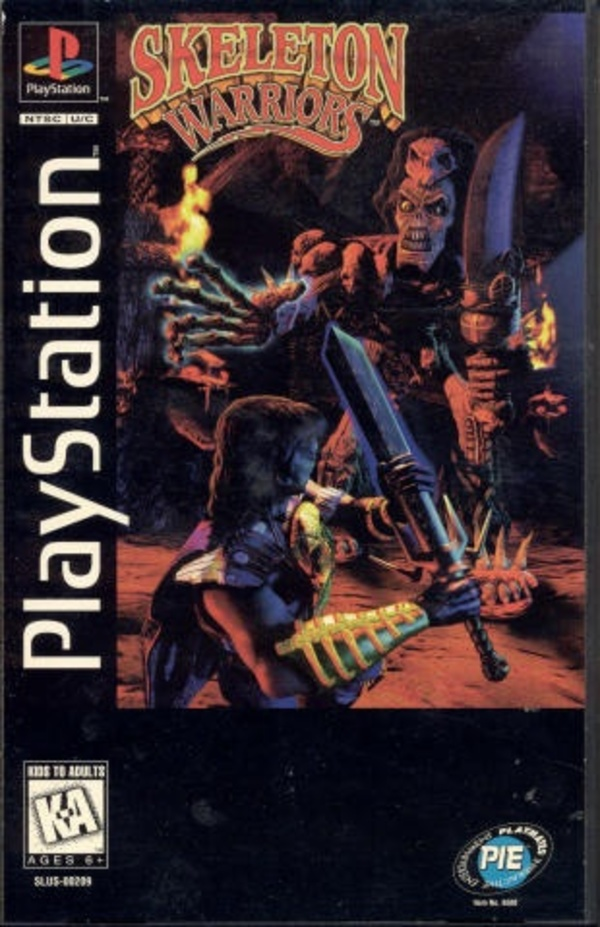 Cover zu Skeleton Warriors