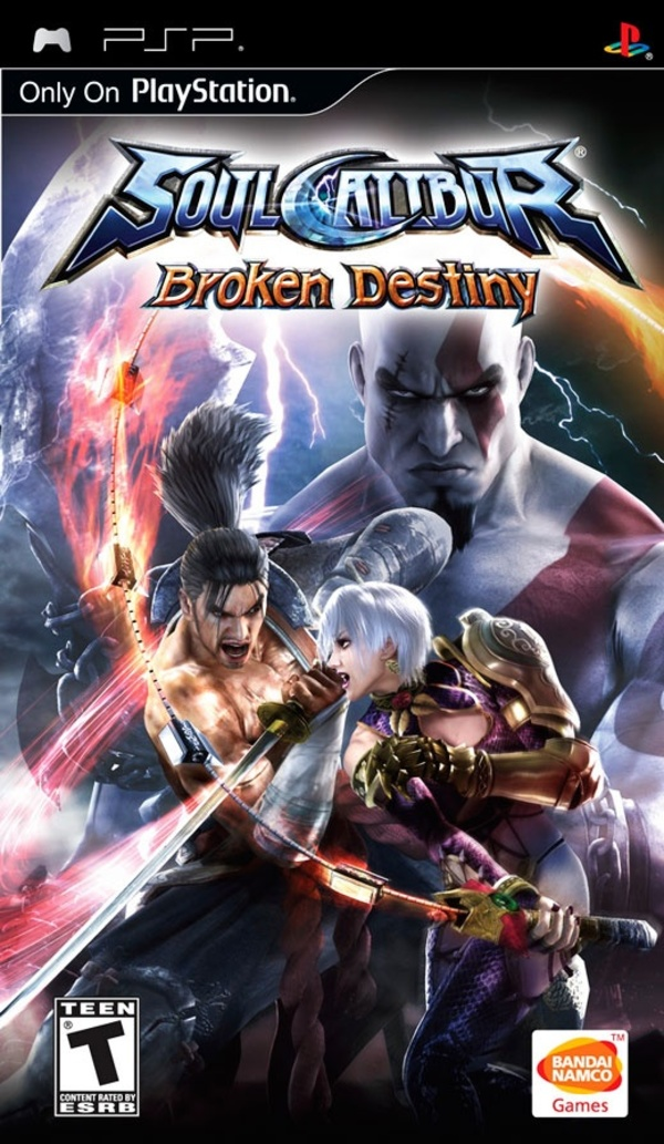 Cover zu Soul Calibur: Broken Destiny