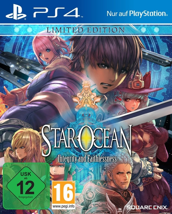 Cover zu Star Ocean 5: Integrity and Faithlessness