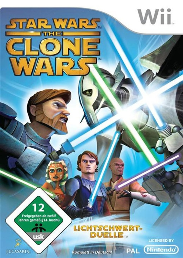 Cover zu Star Wars: The Clone Wars - Lichtschwert-Duelle