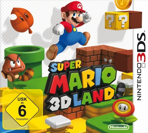 Cover zu Super Mario 3D Land