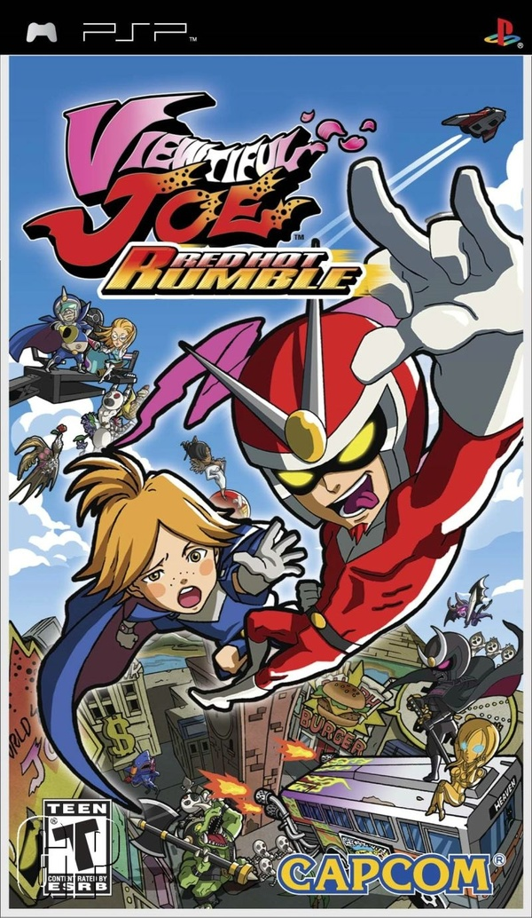 Cover zu Viewtiful Joe: Red Hot Rumble