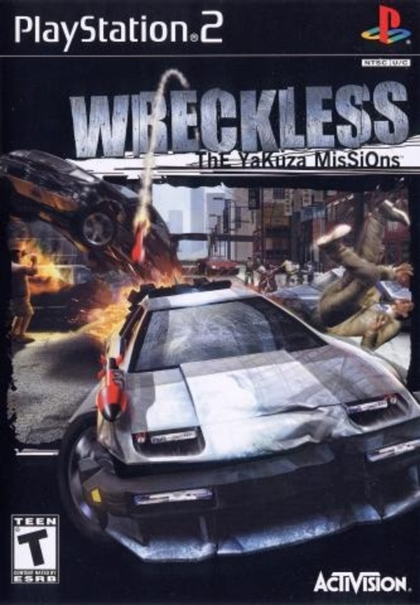 Cover zu Wreckless: The Yakuza Missions