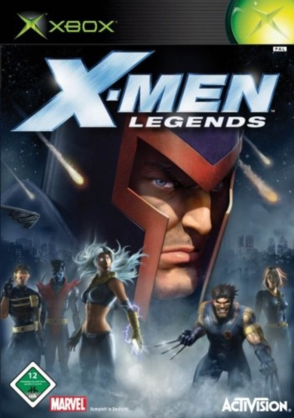 Cover zu X-Men Legends