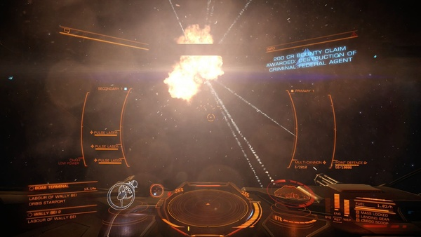 Screenshot zu Elite: Dangerous (PS4) - Screenshots der Xbox-One-Version