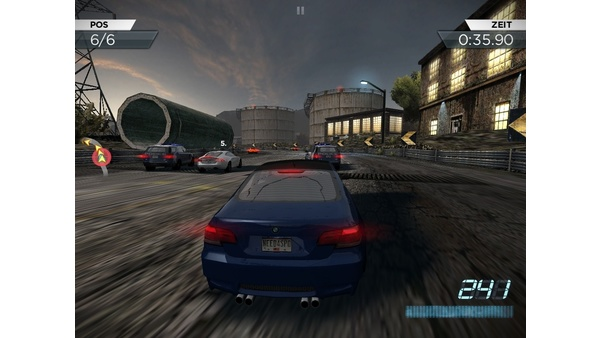 Screenshot zu Need For Speed: Most Wanted (iOS) - Screenshots der iOS-Version