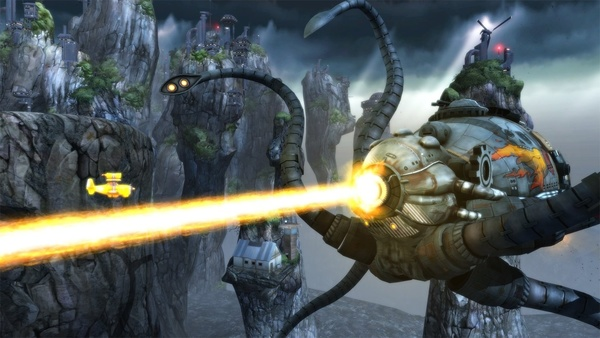 Screenshot zu Sine Mora EX (Nintendo Switch) - Screenshots