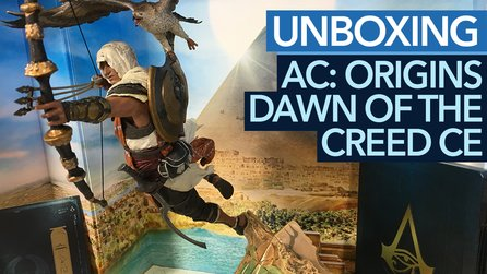 Assassin's Creed: Origins - Unboxing-Video der Dawn of the Creed Edition