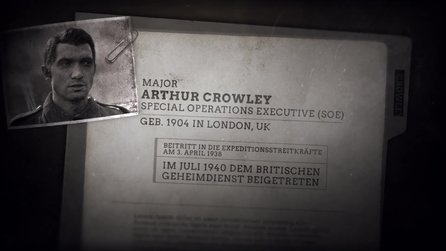 Call of Duty: WW2 - Trailer »Meet the Allies«: Crowley