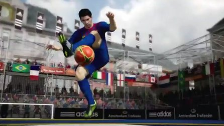 FIFA Street - Gameplay-Video zum Superstar Messi