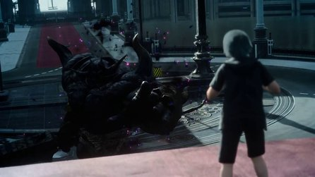 Final Fantasy 15 - Gameplay-Trailer der Platinum-Demo
