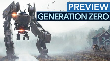 Generation Zero - Gameplay-Preview zum Open-World-Shooter: 10 Minuten Roboter-Kampf in Schweden