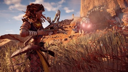 Horizon Zero Dawn - E3-Trailer enthüllt Story-DLC Frozen Wilds zum PS4-Hit