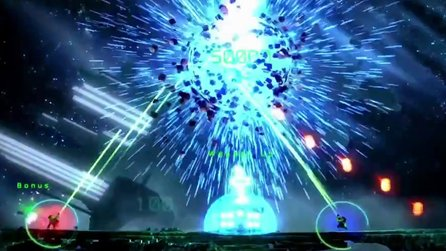Resogun - Gameplay-Trailer zur Wipeout-Erweiterung
