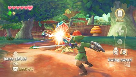 The Legend of Zelda: Skyward Sword - Test-Video für Nintendo Wii
