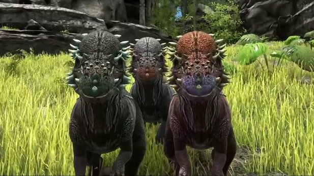 Ark: Survival Evolved - Vorstellungs-Trailer zum Pachycephalosaurus