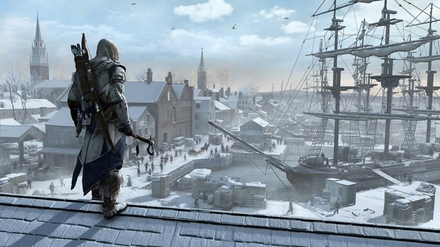 In Assassin's Creed 3 gibt es keine Tower-Defense-Spiele.