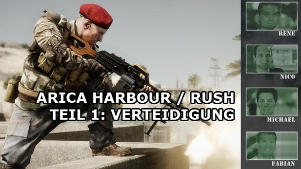 Battlefield: Bad Company 2 - Multiplayer-Duell auf Arica Harbour - Teil 1