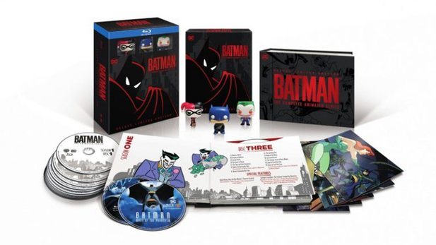Batman: The Animated Series - Deluxe Limited Edition auf Blu-ray.