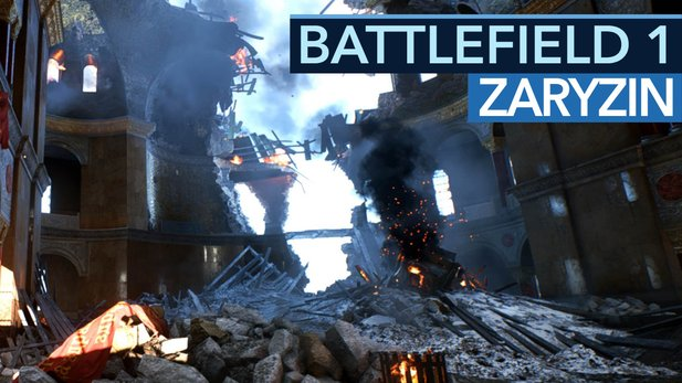 Battlefield 1: In the Name of the Tsar - Gameplay von der neuen Map Zaryzin