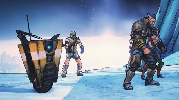 Borderlands: The Pre-Sequel - Techno-Trailer: Choreografie auf dem Mond