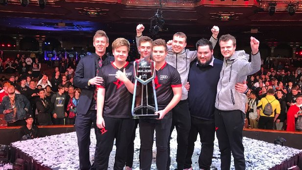 Meister in Counter-Strike: Global Offensive: Die Dänen Astralis.