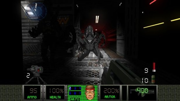 Die Doom-2-Modifikation Aliens: Legacy will den ultimativen 2,5D-Aliens-Shooter erschaffen.