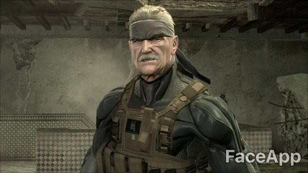 Old Snake in even older