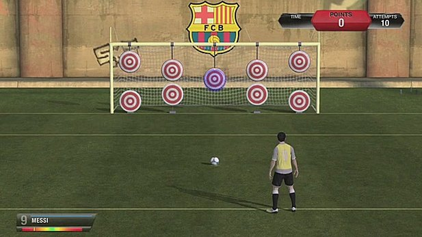»Skill Games«-Video von FIFA 13