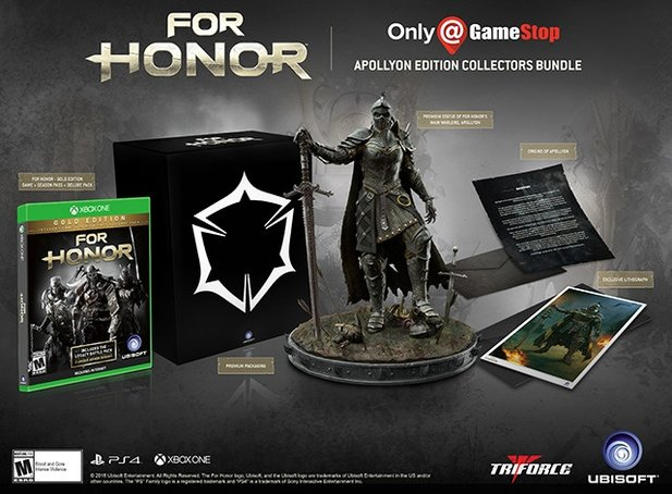 Das ist die »Apollyon Collector's Edition« von For Honor.