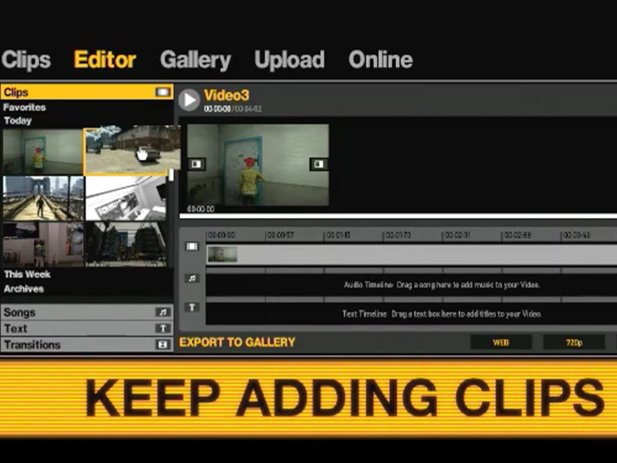 Video-Editor in GTA 4