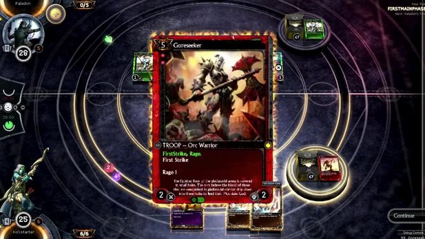 Wizards of the Coast verklagt die Entwickler des digitalen Sammlekartenspiels Hex: Shards of Fate.