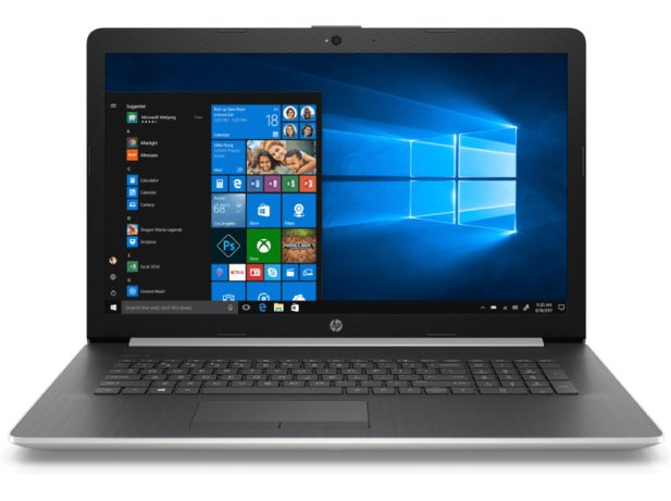 HP 17-by1304ng, Notebook mit 17.3 Zoll Display für 699 €