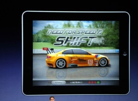 Electronic Arts setzt Need for Speed: Shift für das iPad um.