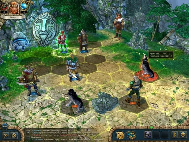 King's Bounty: Warriors of the North vermischt Strategie- mit Rollenspiel.