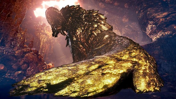Kulve Taroth kommt bald über ein Update in die PC-Version von Monster Hunter World.