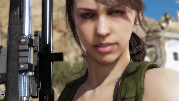 Metal Gear Solid 5 - Making-of-Trailer: Stefanie Joosten beim Motion Capturing als »Quiet«