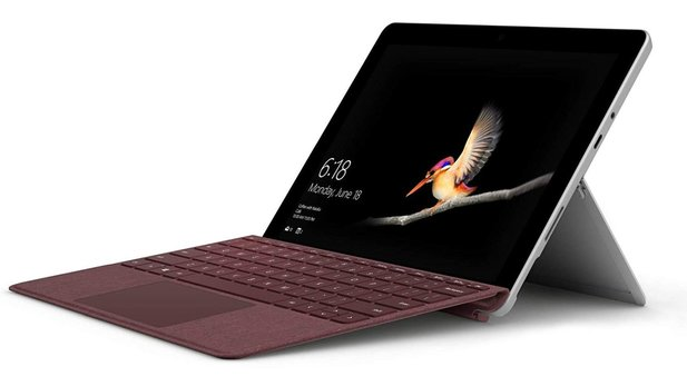 Microsoft Surface Go: ausdauerndes und flottes 2-in-1-Tablet mit Windows 10.