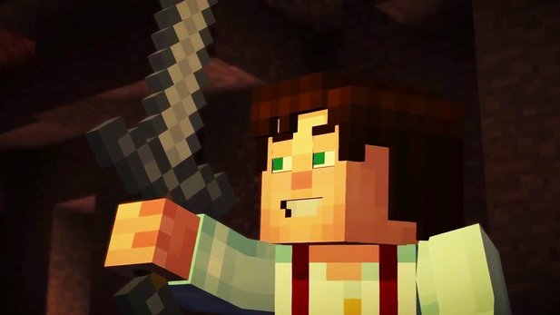 Minecraft: Story Mode - Render-Trailer von der Minecon 2015