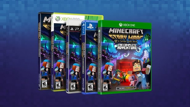Minecraft: Story Mode - Trailer zur Komplett-Edition »The Complete Adventure« mit allen acht Episoden auf Disc