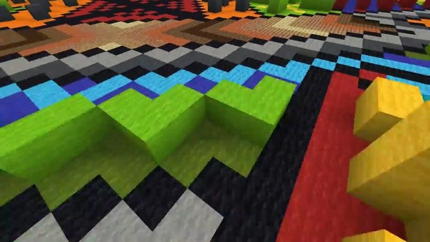 Minecraft - Trailer zeigt das farbenfrohe neue Update 1.12: World of Color
