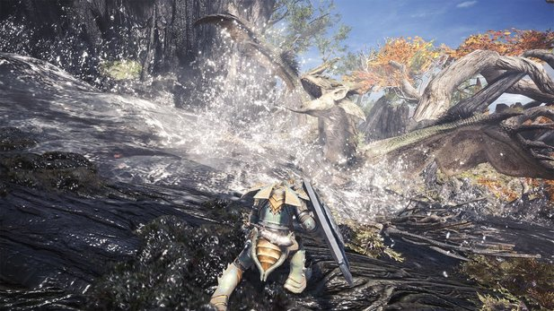Begib dich auf die Jagd in Monster Hunter: World.