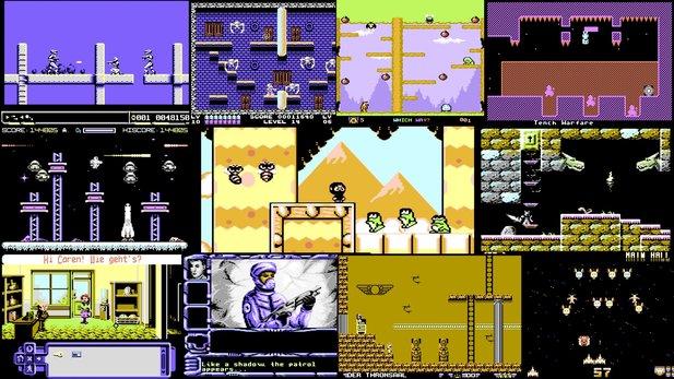 C64 Spiele Spielen