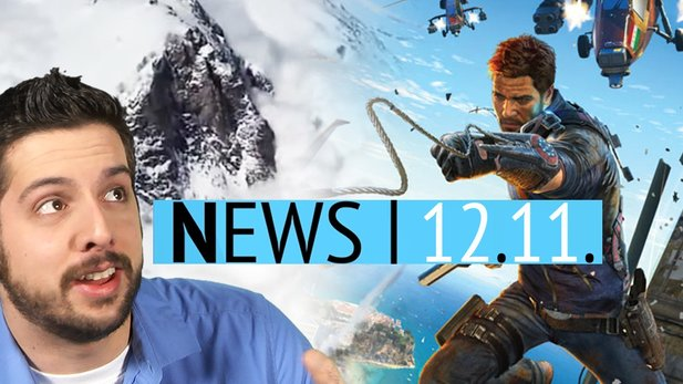 News - Mittwoch, 12. November 2014 - Just Cause 3 angekündigt & Ruckel-Ärger bei Assassin's Creed Unity