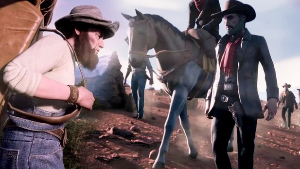 Outlaws Of The Old West - Survival-MMO will Red Dead Online für PC-Spieler sein (Trailer)